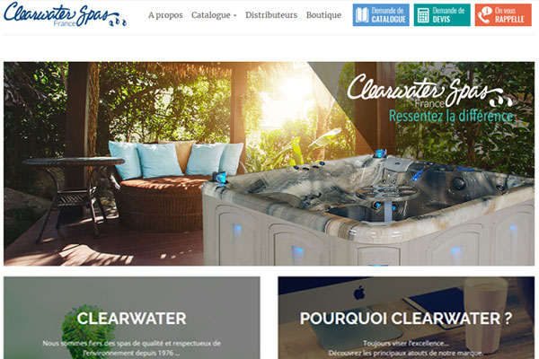 Clearwater Spas France