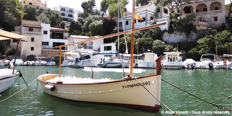 Cala Figuera à Majorque : les bateaux de pêche